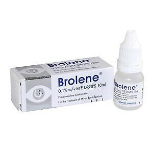 Brolene Eye Drops 10ml For Minor Eye Infections