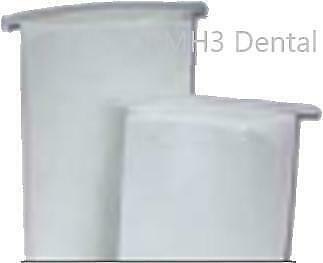 Vision Paper Coated Delivery Bags 13inch Different Quantities