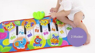 NEW Playgro Jumbo Jungle Piano Musical Piano Mat from Baby Barn Discounts