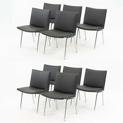 1960s Hans J. Wegner Set of 4 AP38 Airport Dining Chairs by A.P. Stolen Denmark