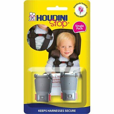 NEW Houdini Stop Car Seat Safety Harness Chest Strap from Baby Barn Discounts