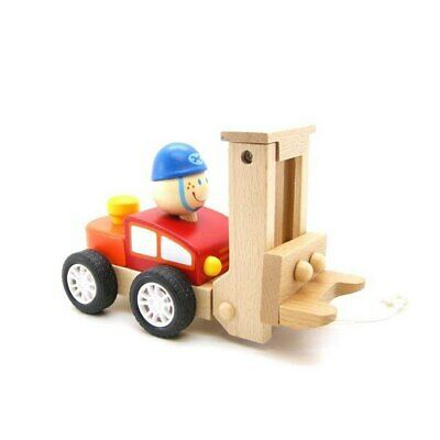 NEW Pull Along Forklift Wooden Toy from Baby Barn Discounts