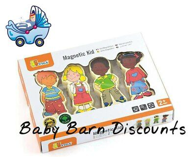 NEW Viga Toys Wooden Magnetic Kid Multicultural from Baby Barn Discounts