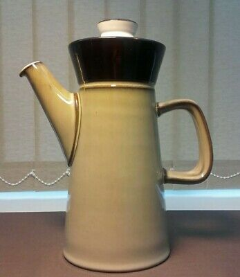 Vintage Retro Denby Stoneware Country Cuisine Coffee Pot In Very  ice Condition*