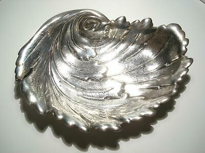 International Sterling Silver Leaf Small Plate Tray B128