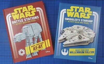 Star Wars Activity And Model Books.