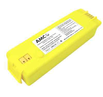 Yellow AMCO 9146 Replacement Battery For Cardiac Science Powerheart G3 AED