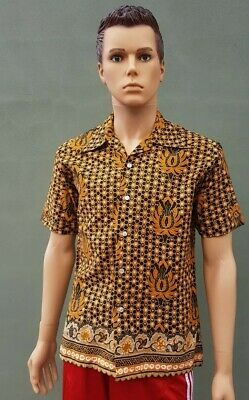 Vintage  Nayytex large shirt slim fit pattern excellent condition  cotton