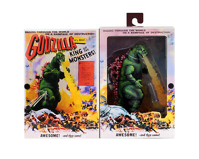 Godzilla: King of the Monsters (1956) Movie Poster Action Figure NECA In Stock