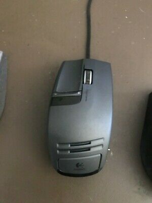 Logitech G9x Gaming Mouse. Rare Discontinued Classic Mouse