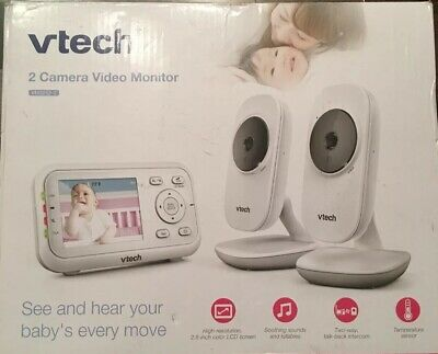 VTech VM3252-2 2.8in  Digital Video Baby Monitor with Automatic Night Vision...