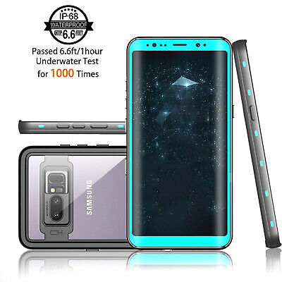 For Samsung Galaxy Note 8 Waterproof Case Shockproof Cover With Screen Protector