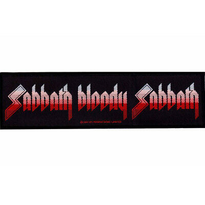 Black Sabbath Sabbath Bloody Sabbath Strip Patch Official Heavy Metal Band Merch