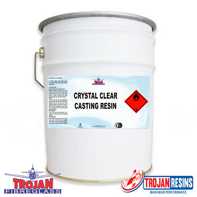 POLYESTER Clear Casting Resin 4kg + Catalyst