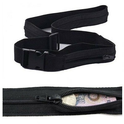 Practical Secret Travel Waist Money Belt Hidden Security Safe Pouch Ticket Bag