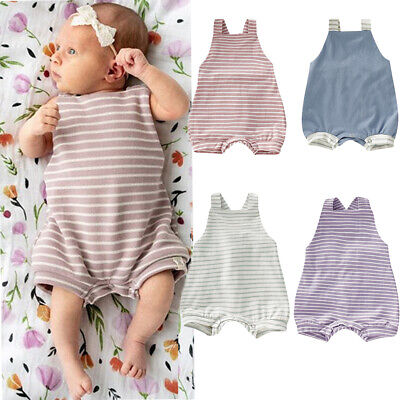 Cute Toddler Newborn Baby Girl Boy Soft Romper Overall Bodysuit Palysuit Clothes