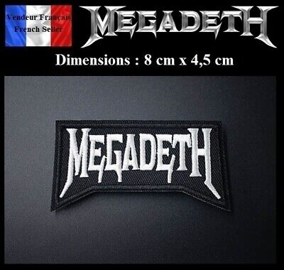 Écusson Brodé Thermocollant NEUF ( Patch Embroidered ) - Megadeth