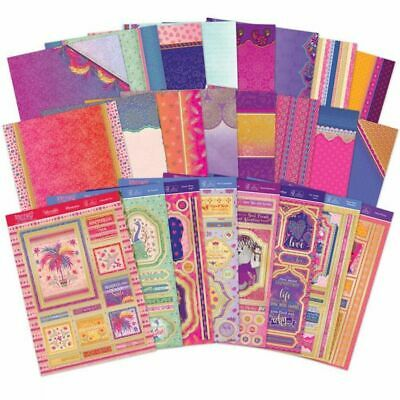 Pick of the MONTH -BRAND new LUXURY CARD making KIT -{PERFECT PARADISE} 3 FOR 1