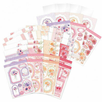 Hunkydory PEARL BOUQUET- COLLECTIONS  - Card Making  KIT Offer《 Free Mirri 》