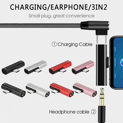 USB-C Type C To 3.5mm Audio Aux Headphone Jack Cable Adapter For Samsung