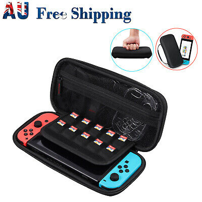 Carrying Case Shell Storage Bag Cover For Nintendo Switch & 2pcs HD Screen Films