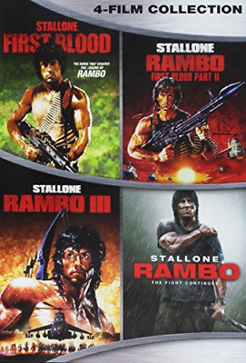DVD Movies Set Rambo Complete Series Collection Stallone ALL