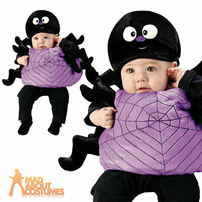 Toddler Silly Spider Costume Baby Halloween Insect Fancy Dress Outfit and Hat