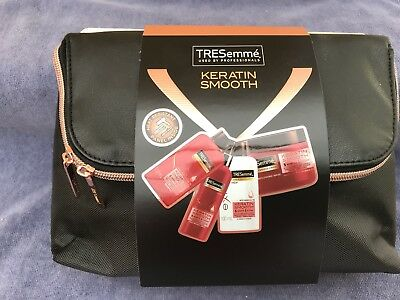 Tresemme Keratin Smooth Luxury Styling Gift Set With Heat Resistant bag B/New