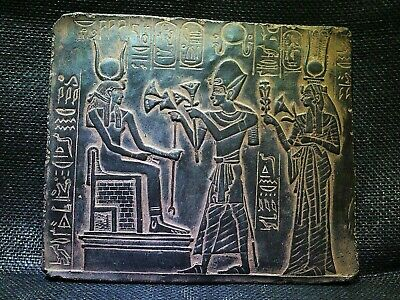 EGYPTIAN ANTIQUES ANTIQUITY Ramses Offering Lotus Stela Stele 1244-1274 BC