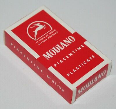 Modiano - Piacentine - Italian Playing Cards - vgc