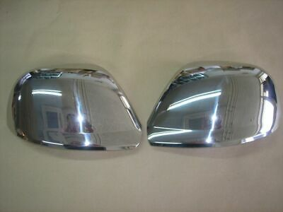 Vw Touareg Chrome Wing Mirror Covers Stainless Steel 2007 - 2011 Models