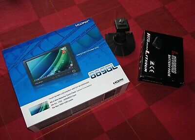 Lilliput touchscreen media 7 inch LCD monitor Model 669GL