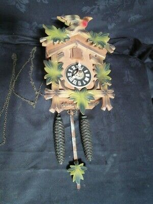 Vintage Small Cuckoo Clock Spare Repair