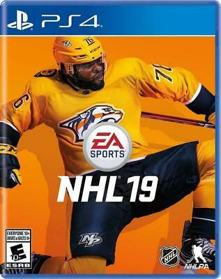 NHL 19 -PS4 PlayStation 4