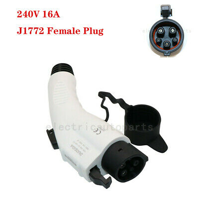 New EV Electric Vehicle Charging Connector Plug For 16amp 240V EV Charger