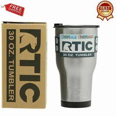 70c643eff9c RTIC 20 OZ. Thermal Tumbler Stainless Cup Coffee Mug Lid Cold or Hot ...