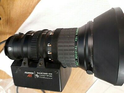Fuji Fujinon AT Aspheric 16x TV Zoom Lens, 1:1.4/6.7-107mm S16X6.7BMD-D18 LENS