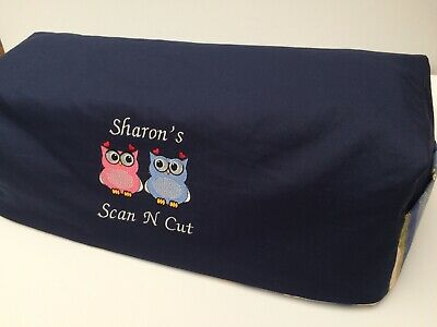 NEW Handmade protective dust cover for Scan n Cut reversible personalised FREE
