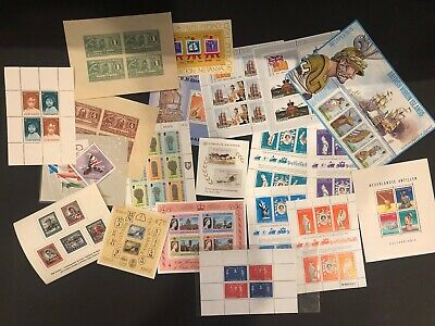 All world selection of 20 mnh stamp sheets - good value #11