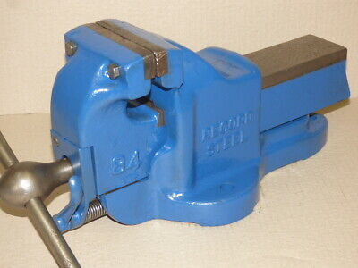 Record 84 Heavy-Duty Engineer STEEL Vice - Meticulously Restored