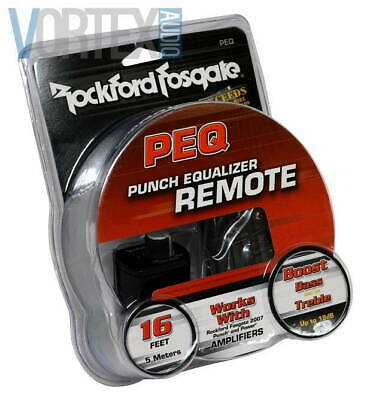 ROCKFORD FOSGATE REMOTE Wired Punch EQ for 2007+ Power