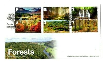 2019 FORESTS GB FIRST DAY COVER Forestry Commission Bristol *NEW* FDC NICE 13.08