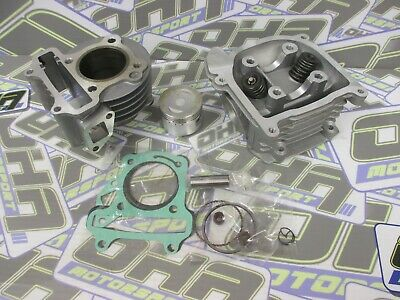 80cc BIG BORE Top End & Cylinder Head Kit for Sym Fiddle 50 / Symply 50 - NEW UK