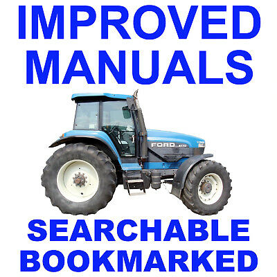 BEST FORD NEW Holland 70 70A Tractors 8670 8770 8870 Service Repair