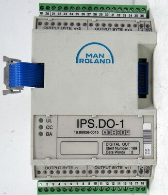 .TU870 Bus Adapter MAN Roland IPS.BA-1 16.86959-0001