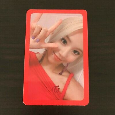 TWICE CHAEYOUNG Photocard - Fancy You Mini Album