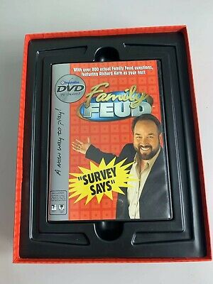 FAMILY FEUD DVD Game Survey Says Over 800 Questions DVD TV Games