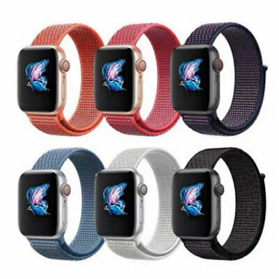 CINTURINO per Apple Watch serie 4 3 2 1 SPORT LOOP 44 42 40 38 mm NYLON TESSUTO