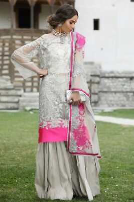 Bollywood Party Wear Wedding Pakistani Heavy Indian Salwar Kameez Plazzo Suit