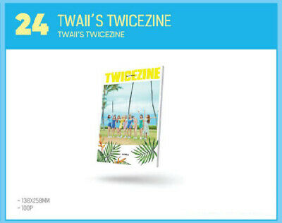 TWICE POPUP STORE Twaii's SHOP SEOUL OFFICIAL GOODS TWICEZINE PHOTOBOOK SEALED